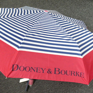 NWT Dooney & Bourke Sullivan Stripe Umbrella PkNav